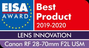 EISA-Award-Canon-RF-28-70mm-F2L-USM-300x
