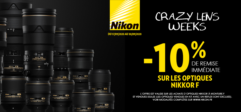 NIKON Crazy Lens Weeks