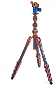 3 LEGGED THING Trépied Pro 2.0 Albert Bronze Carbone + Rotule (New)