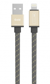 ALLOCACOC Câble Usb Lightning Gold
