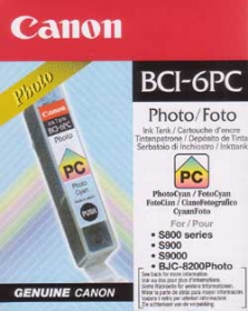 CANON Encre BCI-6 Photo Cyan
