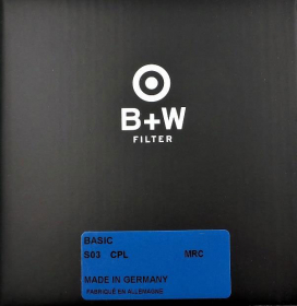 B+W Filtre Polarisant Circulaire Basic MRC 40.5mm (1100879) (New)
