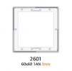 GEPE 2601 Caches Diapositives 6x6cm AntiNewton 3mm (X20)