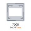 GEPE 7005 Caches Diapositives 24x36 3mm Sans Verres (X100)