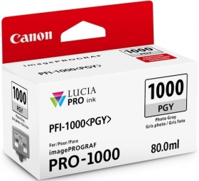 CANON Encre PFI-1000PGY Photo Gris