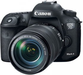 CANON Eos 7D Mark II + 18-135mm IS Nano USM (New)