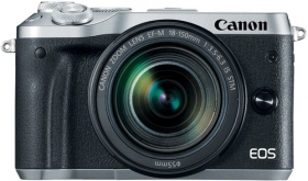 CANON Eos M6 + 18-150mm f/3.5-6.3 EF-M IS STM Silver (OP 5)