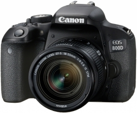 CANON Eos 800D+18-55mm f/4-5.6IS STM (Promo)(OP 1)
