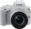 CANON Eos 200D Blanc + 18-55mm f/4-5.6 EF-S IS STM Silver (OP 9)