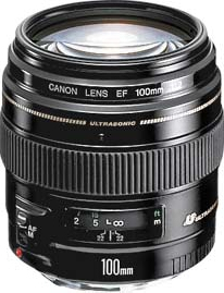 CANON 100mm EF f/2 USM (reconditionné)