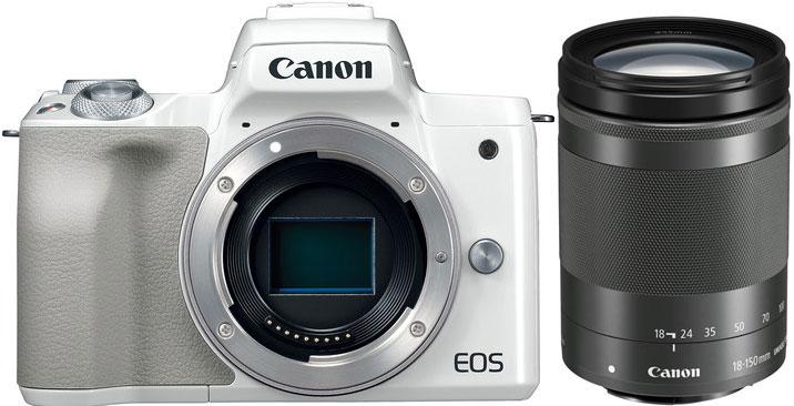 7e0f1746e8 CANON Eos M50 + EF-M 18-150mm STM Blanc - 4549292109580