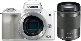 CANON Eos M50 + EF-M 18-150mm STM Blanc (OP 12)