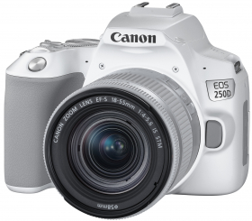 CANON Eos 250D + 18-55 IS STM Blanc