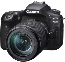 CANON Eos 90D + 18-135mm f/3.5-5.6 IS USM (OP 1) (New)