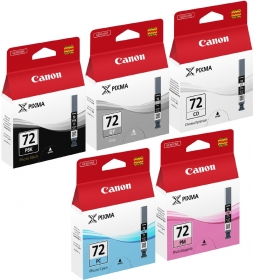 CANON Encre Multipack PGI-72 PBK/GY/PM/PC/CO