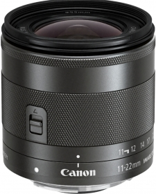 CANON 11-22mm EF-M f/4-5.6 IS STM