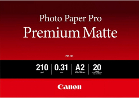 CANON Papier Photo Professionnel PM-101 Mat A2 25 Feuilles