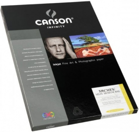 CANSON Papier Photo Infinity Arches Velin Museum Rag A2 315g 25 F