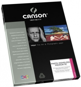 CANSON Papier Photo Infinity A4 315g 10 Feuilles Highgloss