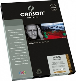 CANSON Papier Photo Infinity Baryta Prestige A4 340g 25 Feuilles
