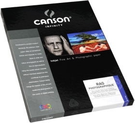 CANSON Papier Photo Infinity Rag Photo A4 210g 10 Feuilles