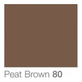 COLORAMA Fond de Studio 1.35 X 11m Peat Brown