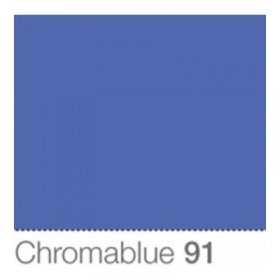 COLORAMA Fond de Studio 1.35 X 11m Chromablue