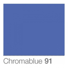 COLORAMA Fond de Studio 2.72 X 11m Chromablue (DS)