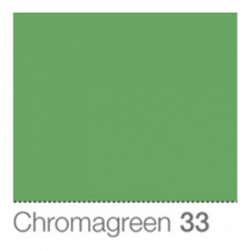COLORAMA Fond de Studio 2.18 X 11M Chromagreen (DS) (OP FRENCH)
