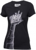 COOPH T-Shirt Femme Snapographer Noir Taille S (destock)