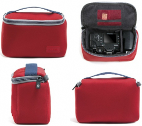 CRUMPLER Fourre-Tout The Inlay Zip Protection Pouch S Rouge