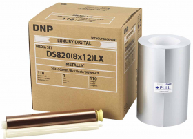 DNP Papier Thermique Metallic pr DS 820-20x30cm 110 Photos (OP FRENCH)