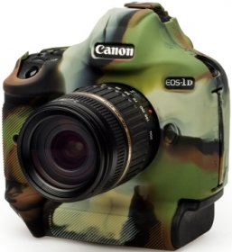 EASYCOVER Coque Silicone Camouflage p. Canon 1Dx/1Dx Mark II (Soldes)