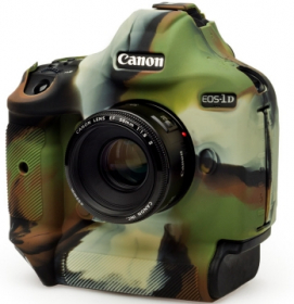 EASYCOVER Coque Silicone Camouflage pour Canon 1Dx Mark II / Mark III