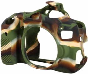 EASYCOVER Coque Silicone Camouflage pour Canon 800D