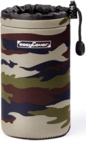 EASYCOVER Etui Lens Case Large 18x8.5cm Camouflage