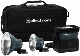 ELINCHROM Kit ELB 500 TTL Dual To Go (OP FRENCH)