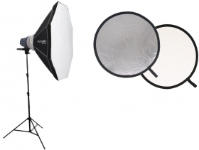 ELINCHROM Kit Portrait D-lite Rx One