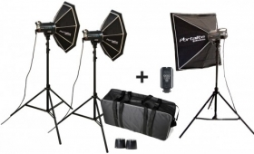 ELINCHROM Kit 3 Flashes D-Lite 4