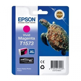 EPSON Encre T1573 Vivid Magenta 25.9ml Stylus Photo R3000