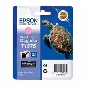 EPSON Encre T1576 VividLight Magenta 25.9ml Stylus Photo R3000