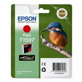 EPSON Encre T1597 Rouge Stylus Photo R2000