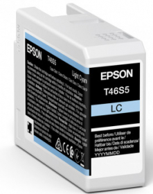 EPSON Encre T46S500 Light Cyan 25ml SureColor SC-P700