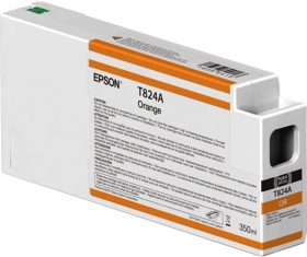 EPSON Encre T824A Orange 350ml SureColor SC-P6000