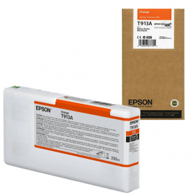 EPSON Encre T913A Orange 200ml SureColor SC-P5000