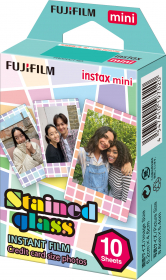FUJI Instax Mini Stained Glass (10 Poses)