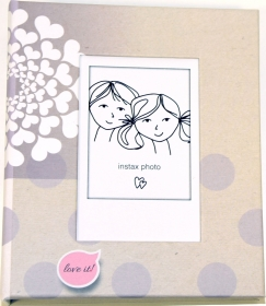 FUJI Album pour Instax Mini Pocket Dots