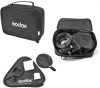 GODOX Kit S-Bracket Bowens + Softbox 50X50cm + Grille