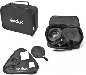 GODOX Kit S-Bracket Bowens + Softbox 80X80cm + Grille