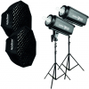 GODOX Kit Complet de Studio avec 2 Flash DPII 600
